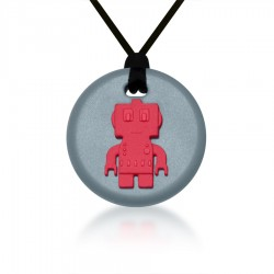 Robot Teething Pendants